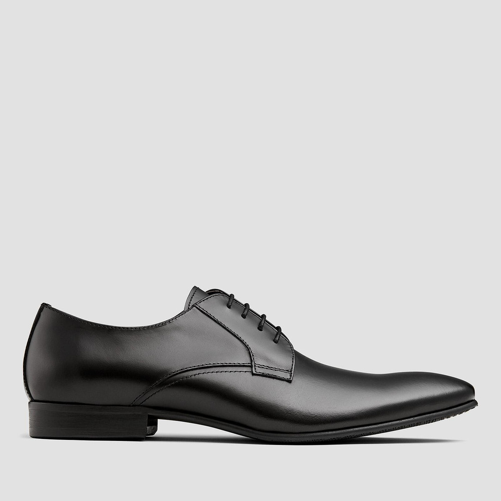 Brennan Black Lace Up Shoes