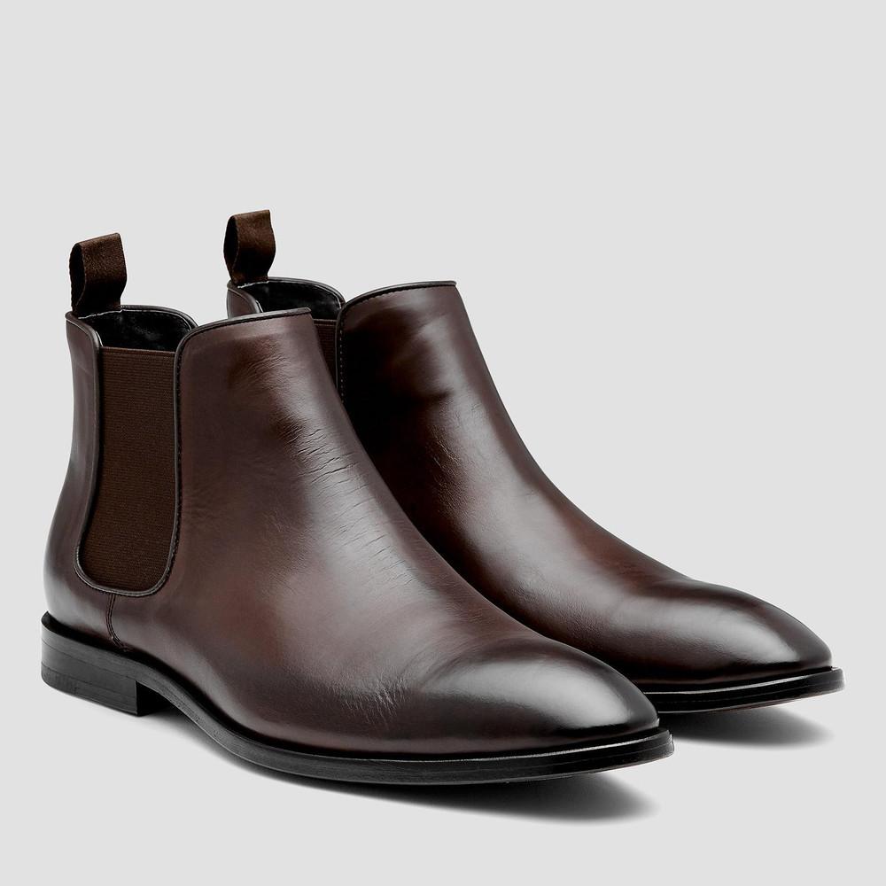93ff8e21f77 Branson Chocolate Chelsea Boots - Aquila