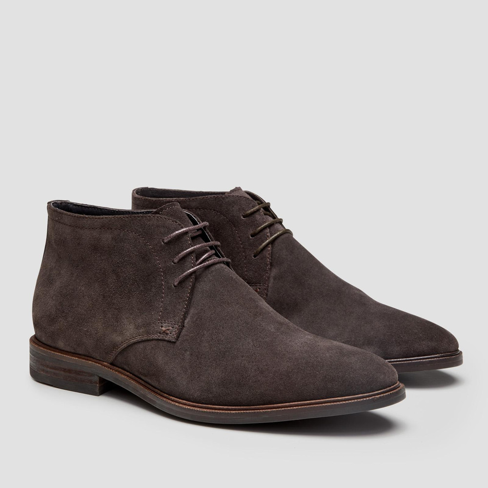 Drummond Brown Ankle Boots
