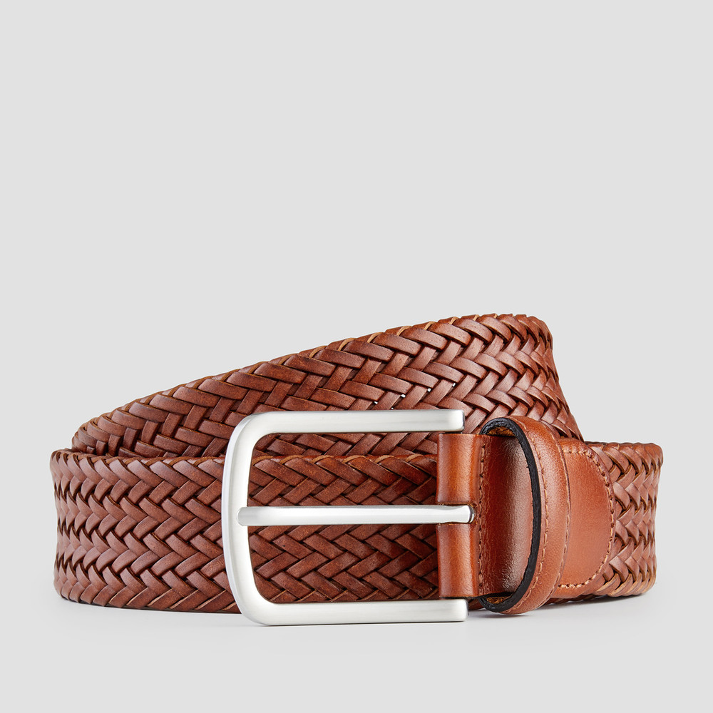 Bron Dark Tan Belt