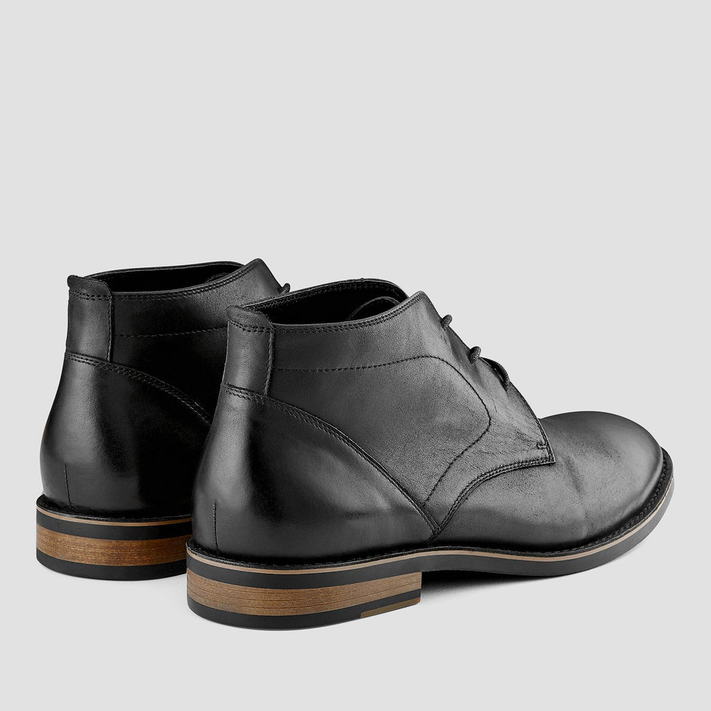 Malcolm Black Desert Boots