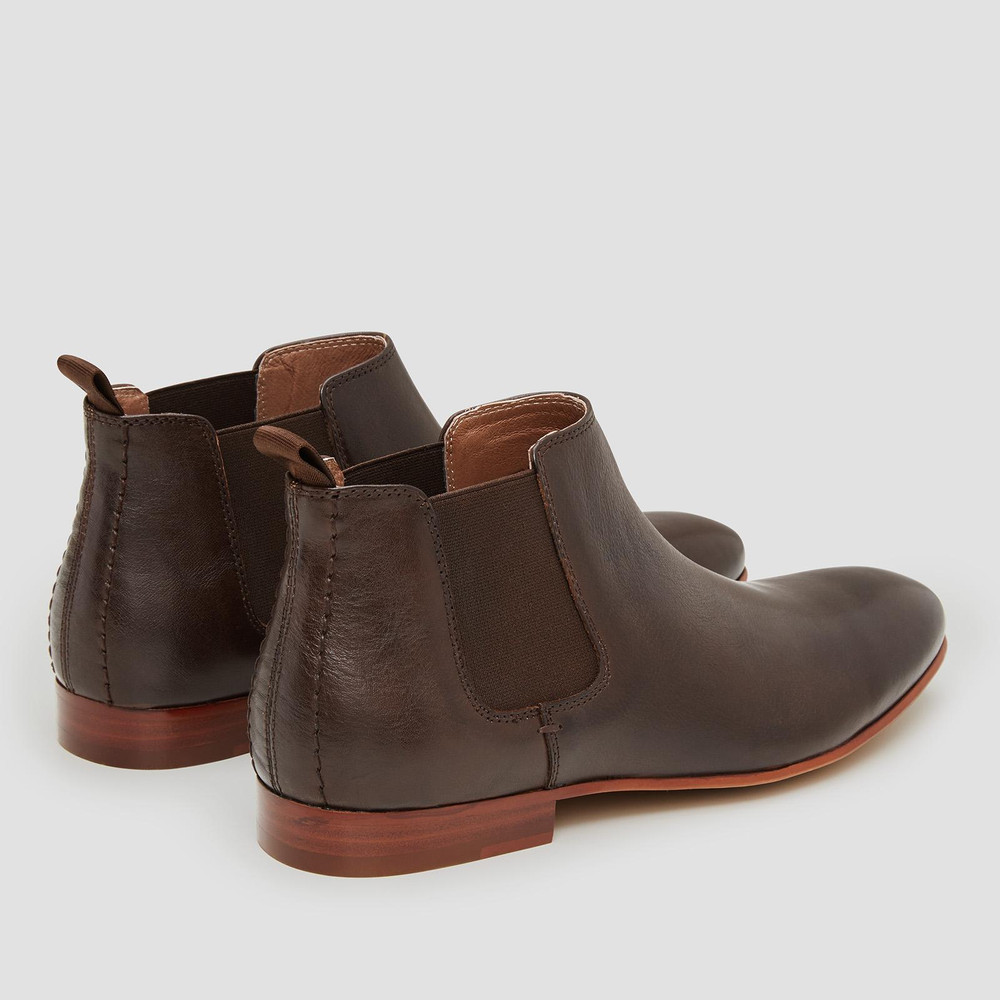 Arsenal Brown Chelsea Boots