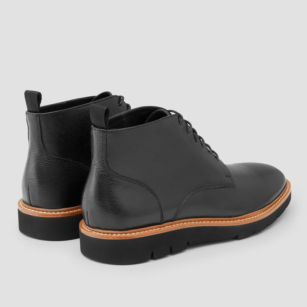 Tarrant Black Ankle Boots
