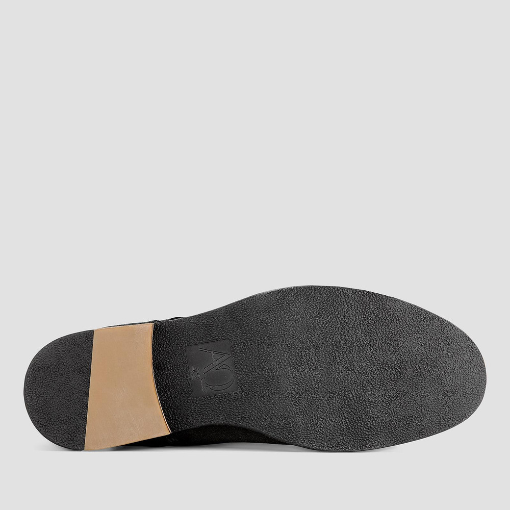 Delaney Charcoal Desert Boots
