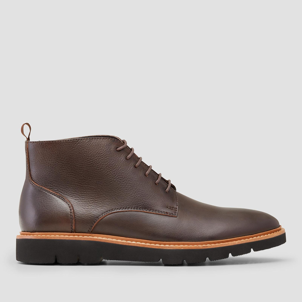 Tarrant Brown Ankle Boots