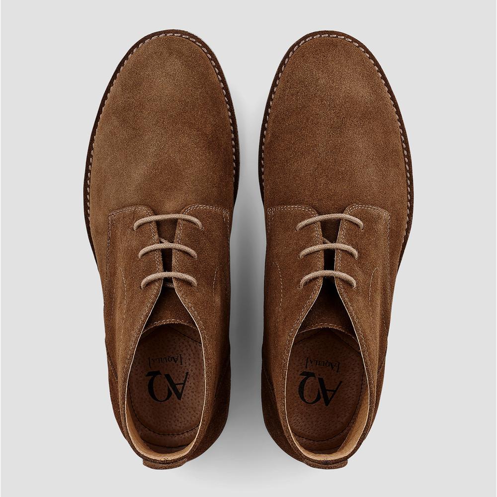 Delaney Tan Desert Boots