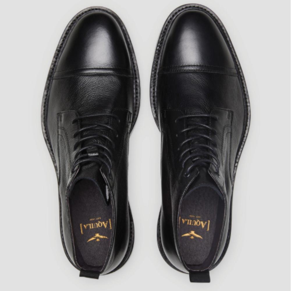 Pangman Black Military Boots