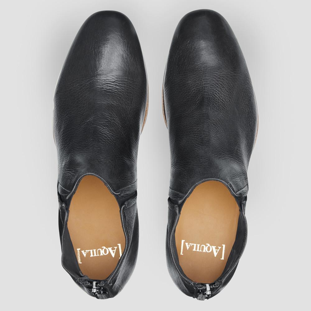 Quinn Black Ankle Boots