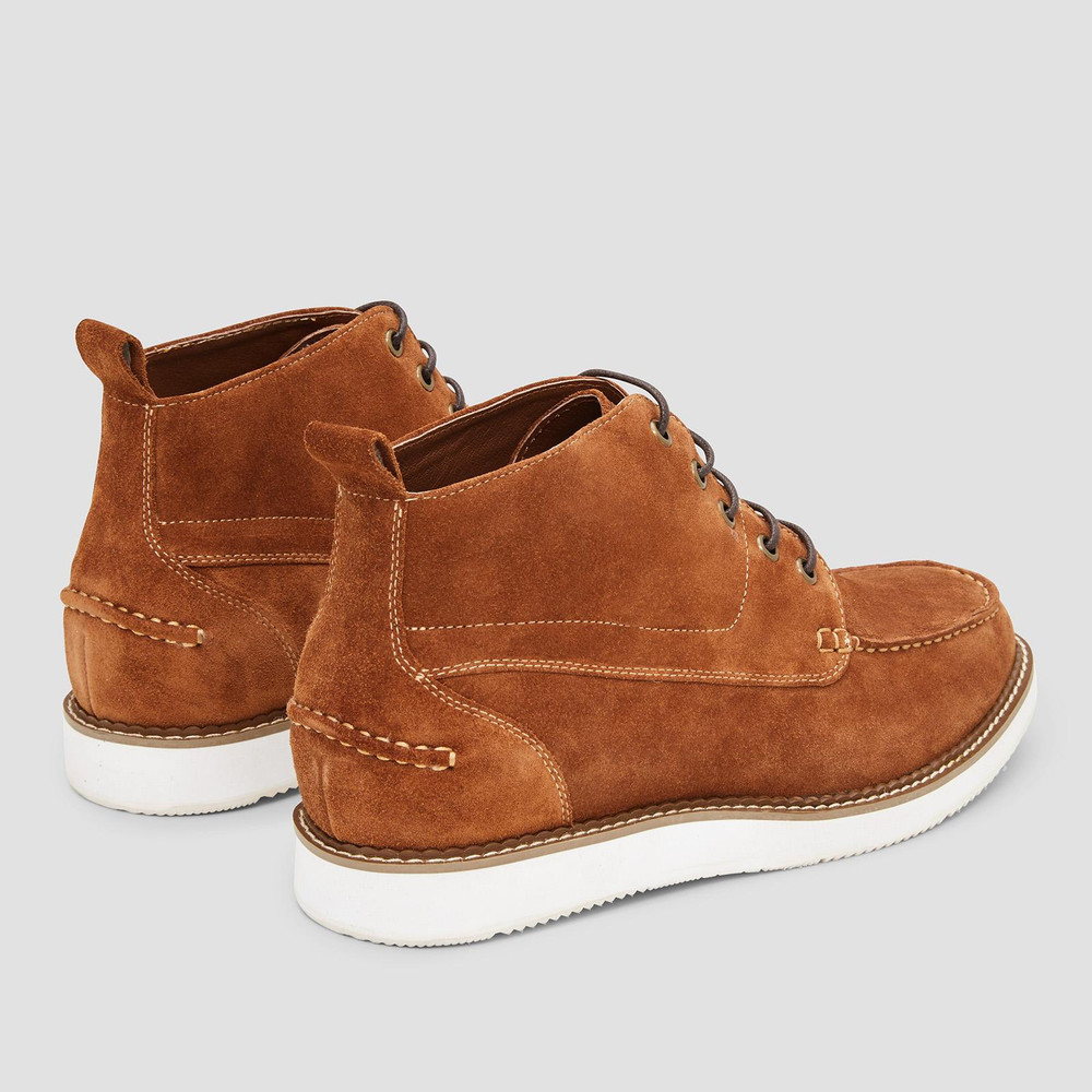 Vienna Tan Desert Boots