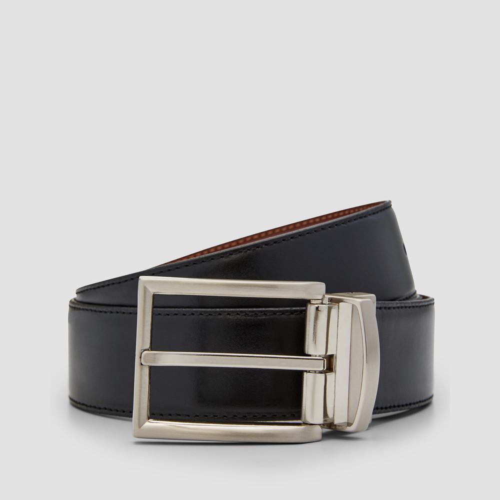 Mazio Blk/ Tan Belt