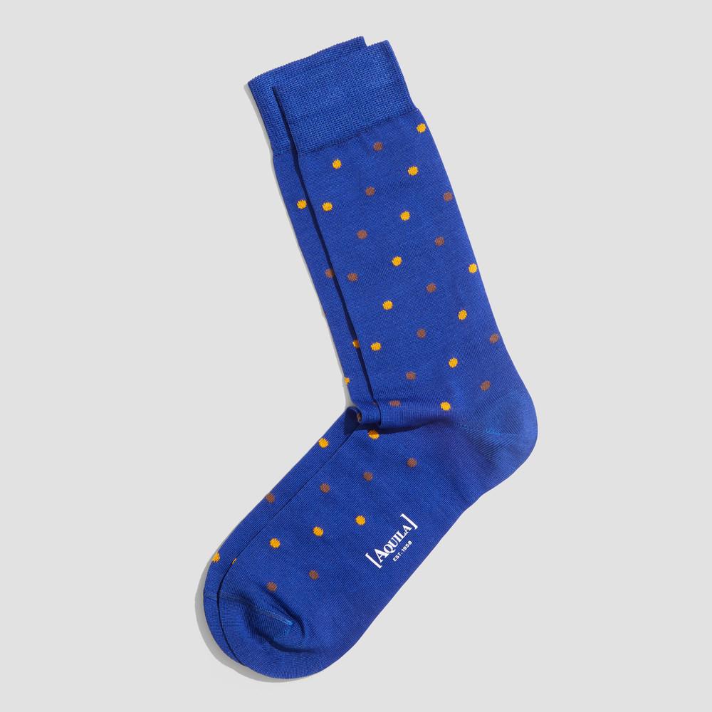 Grant Cobalt Socks