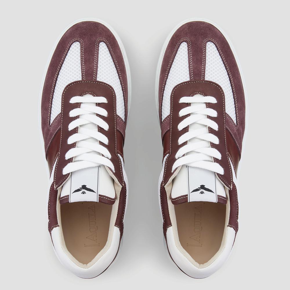 Viper Burgundy Sneakers