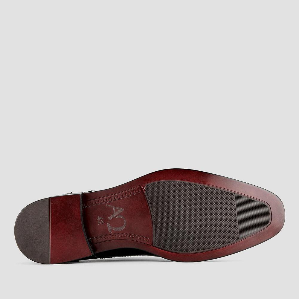 Modena Black Lace Up Shoes
