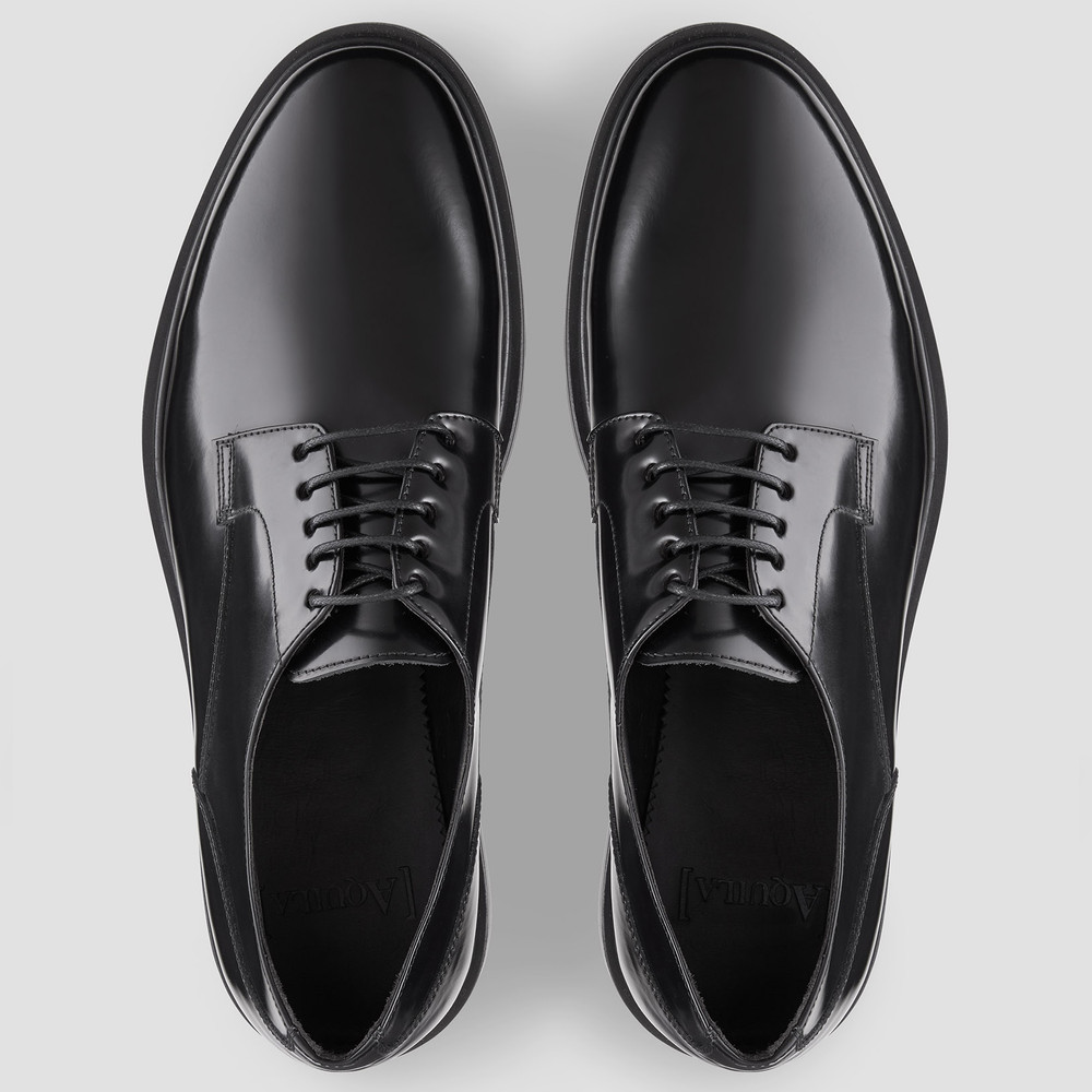 Alonso Black Casual Shoes