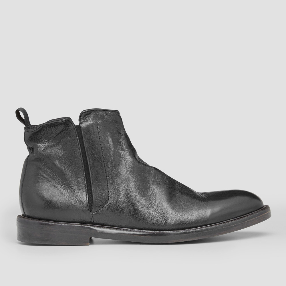 Townsend Black Ankle Boots
