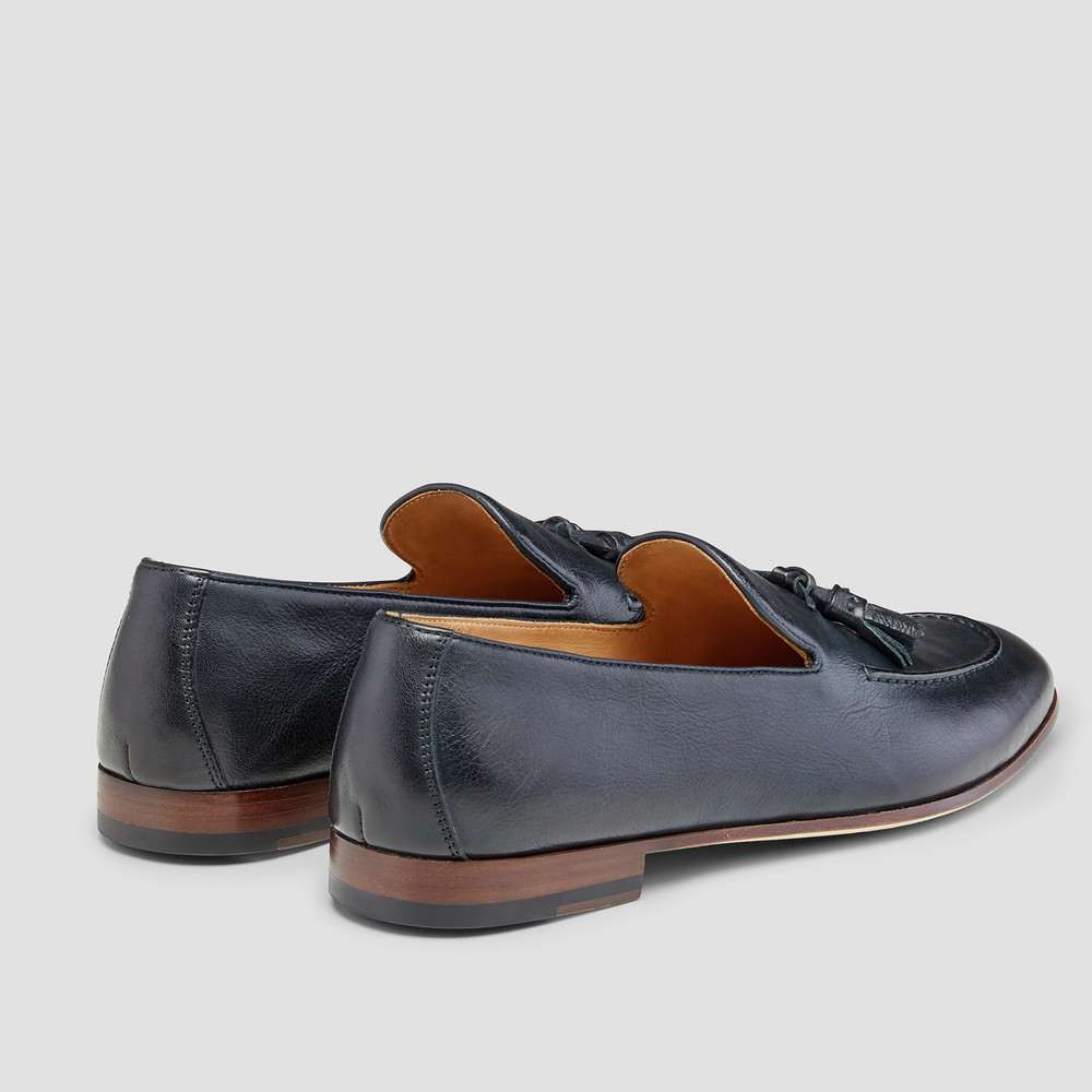 Alberto Navy Loafers