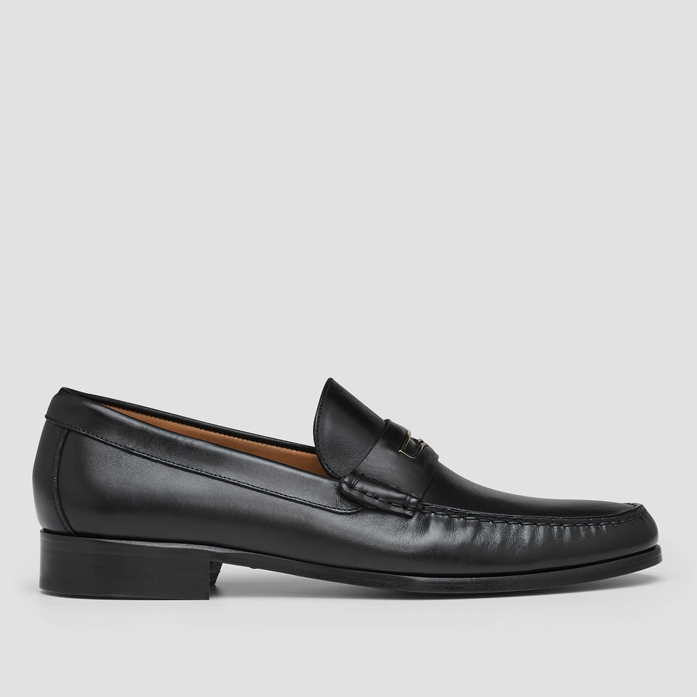 Armfield Black Penny Loafers