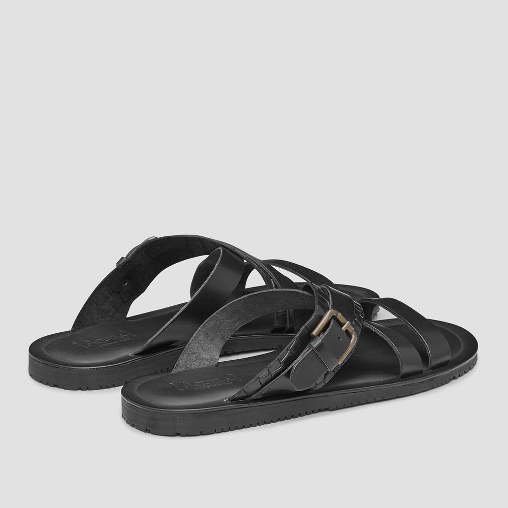 Barbados Black Sandals