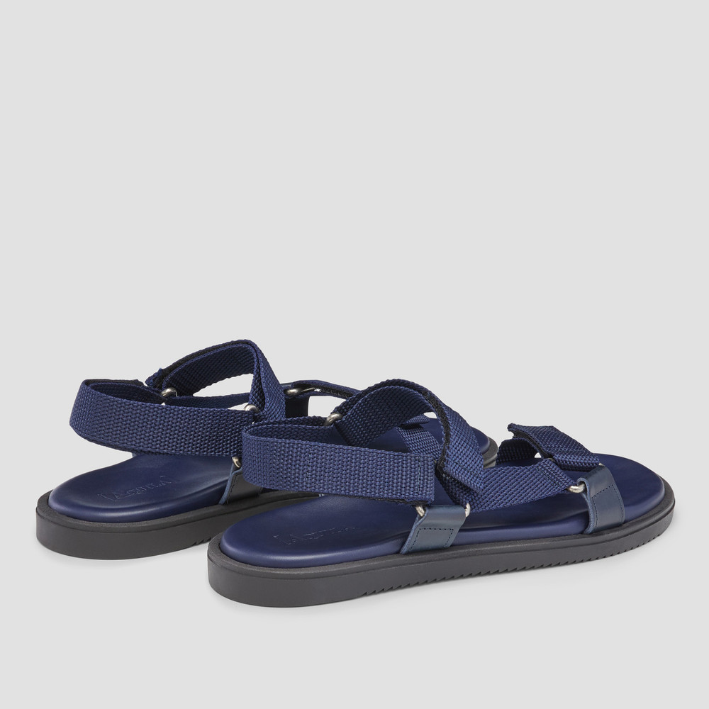 Belize Navy Sandals