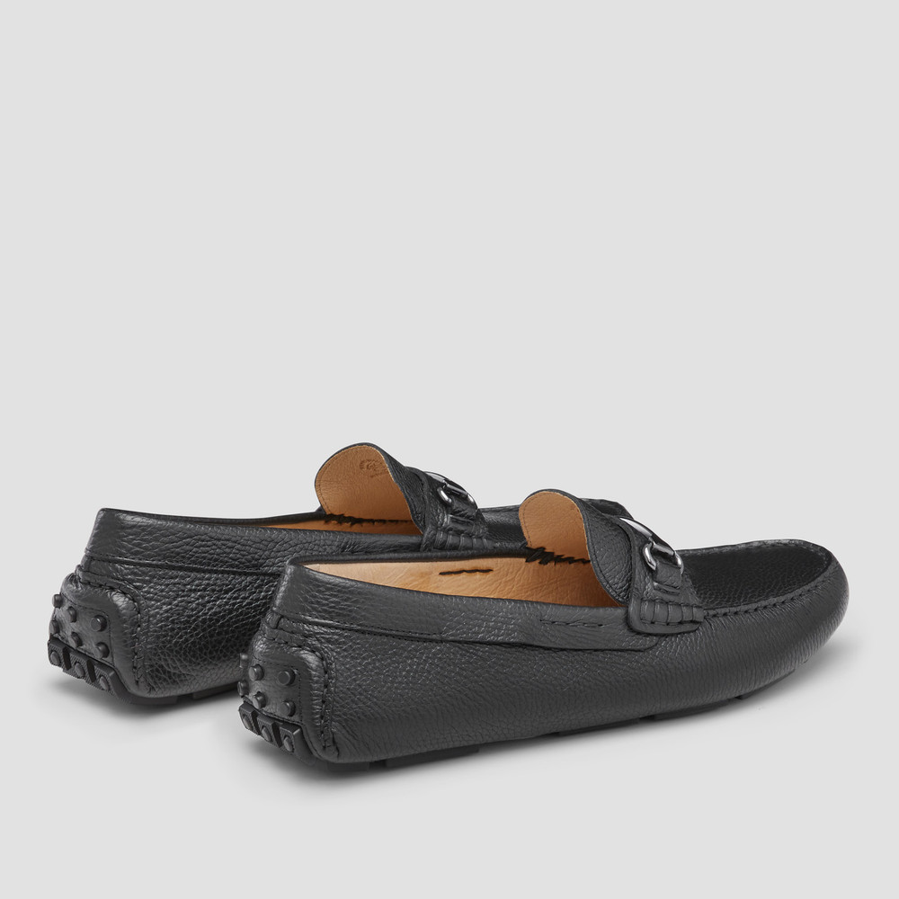 Bismarck Black Driving Shoes