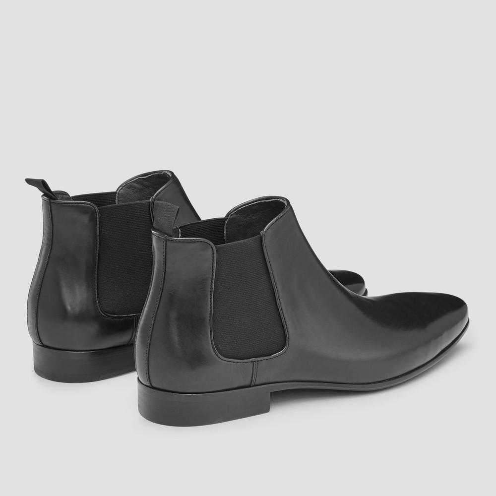 Brodrick Black Chelsea Boots