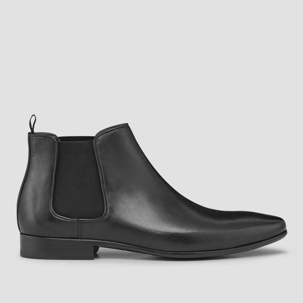 Brodrick Black Chelsea Boots - Aquila