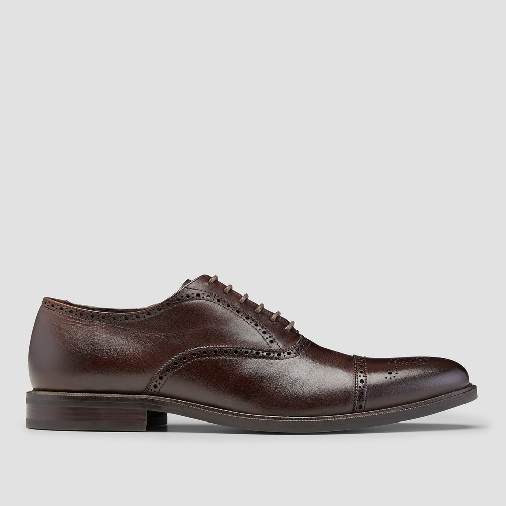 Kensington Brown Oxford Shoes