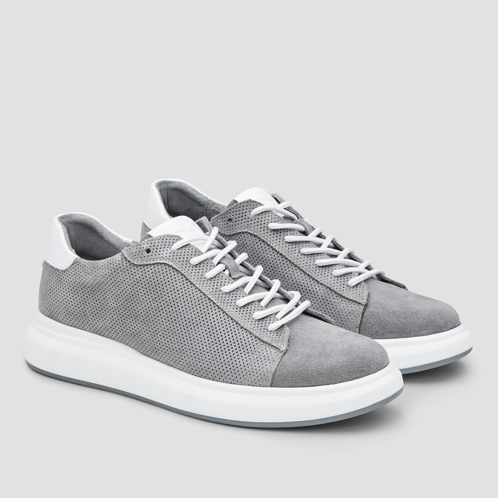Hoyt Grey Sneakers