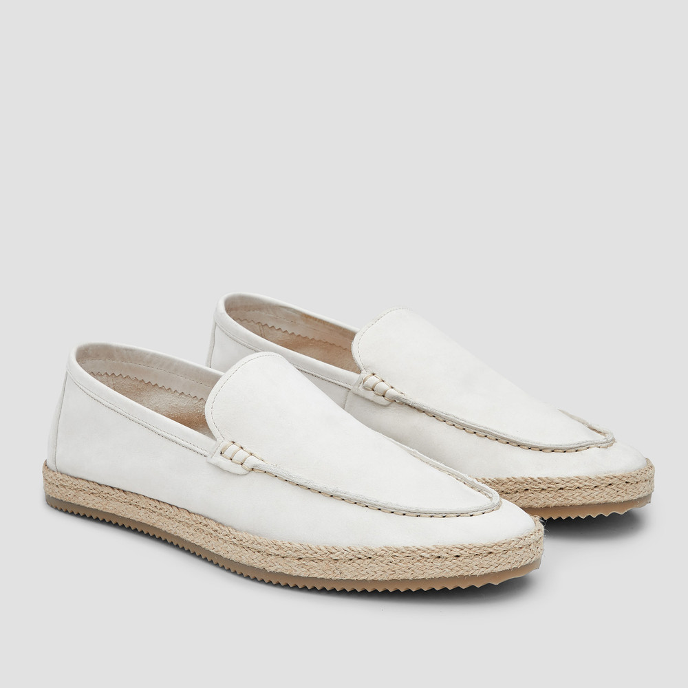 Coogee Off White Espadrilles