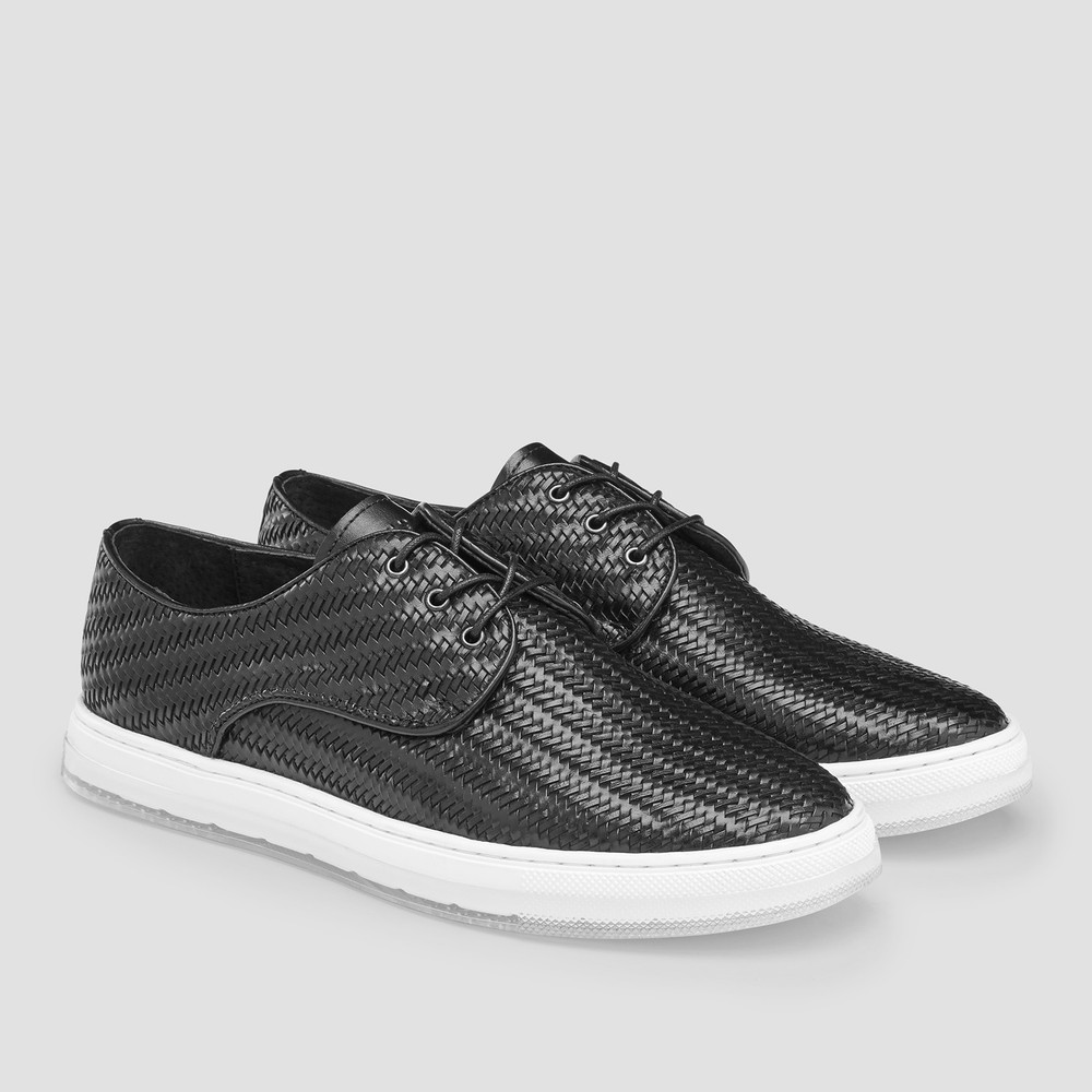 Spence Black Casual Shoes