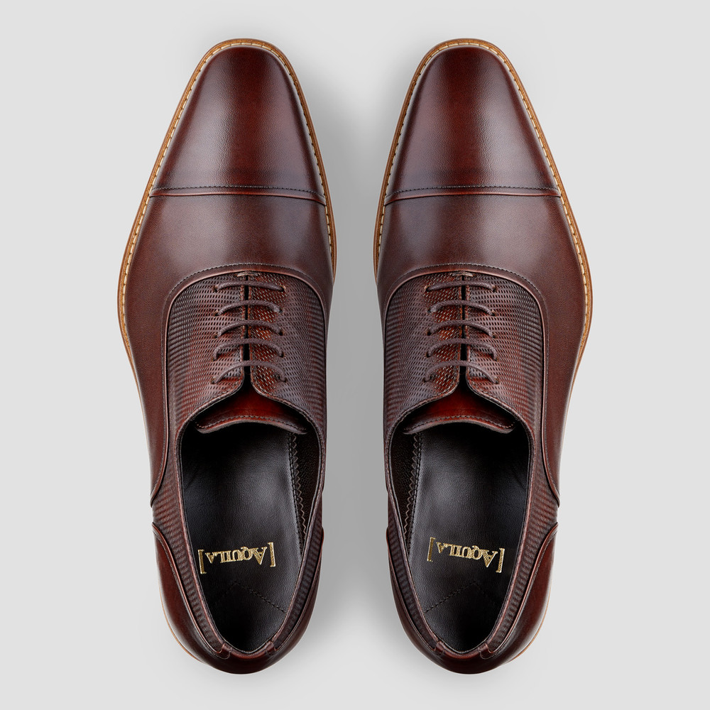 Woodley Brown Oxford Shoes