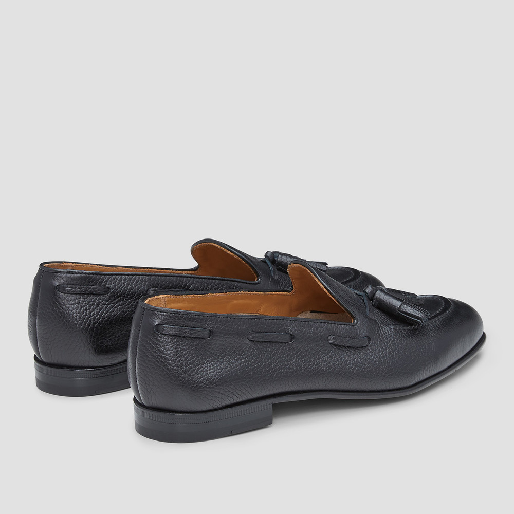 Lyons Navy Loafers