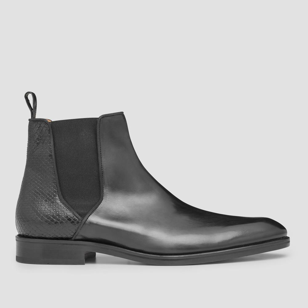 Rushmore Black Chelsea Boots