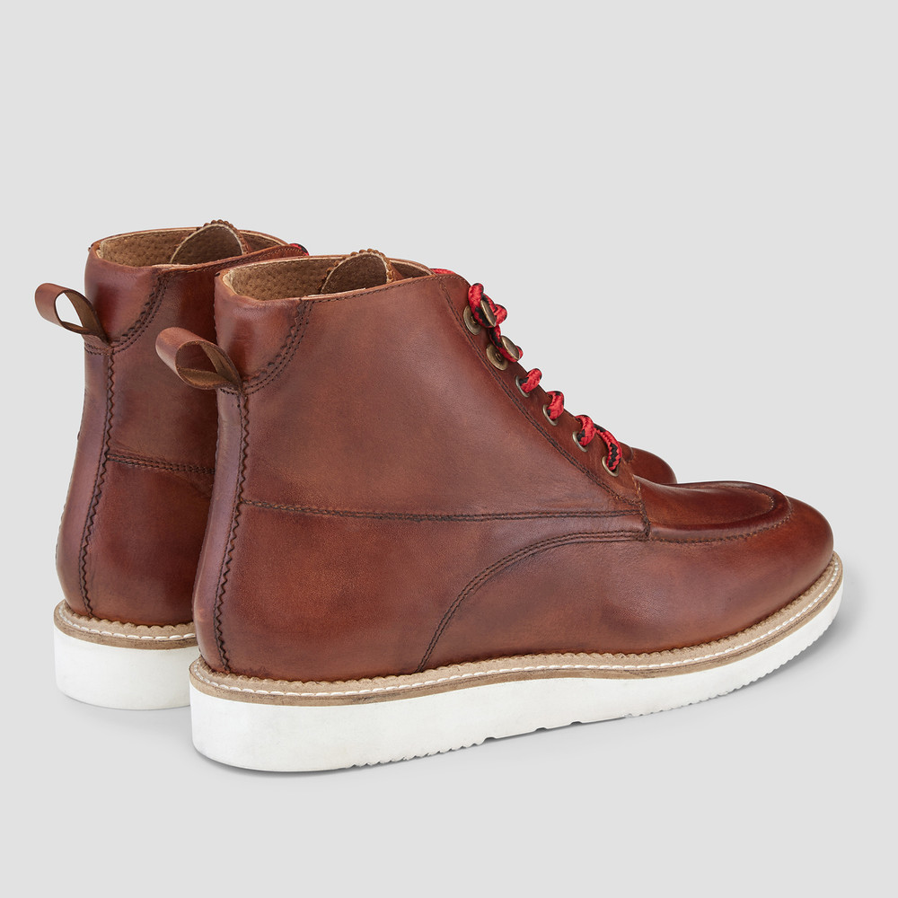 Keystone Burgundy Ankle Boots