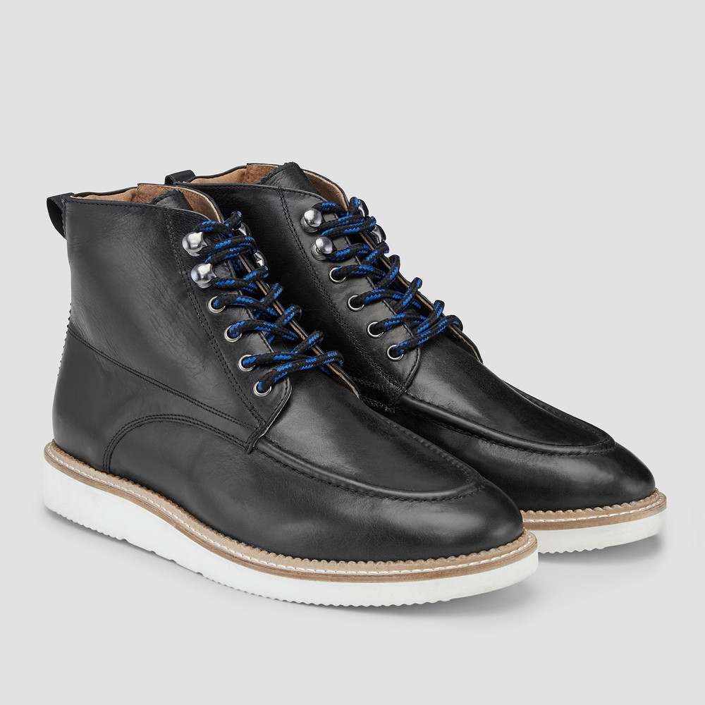 Keystone Black Ankle Boots