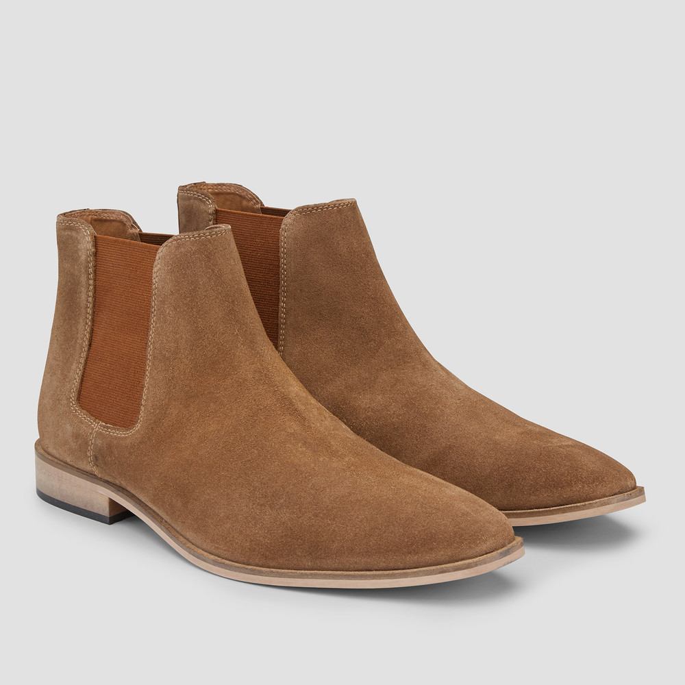 Bell Tan Chelsea Boots