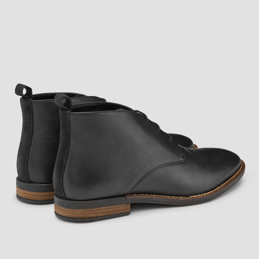 Middleton Black Chukka Boots