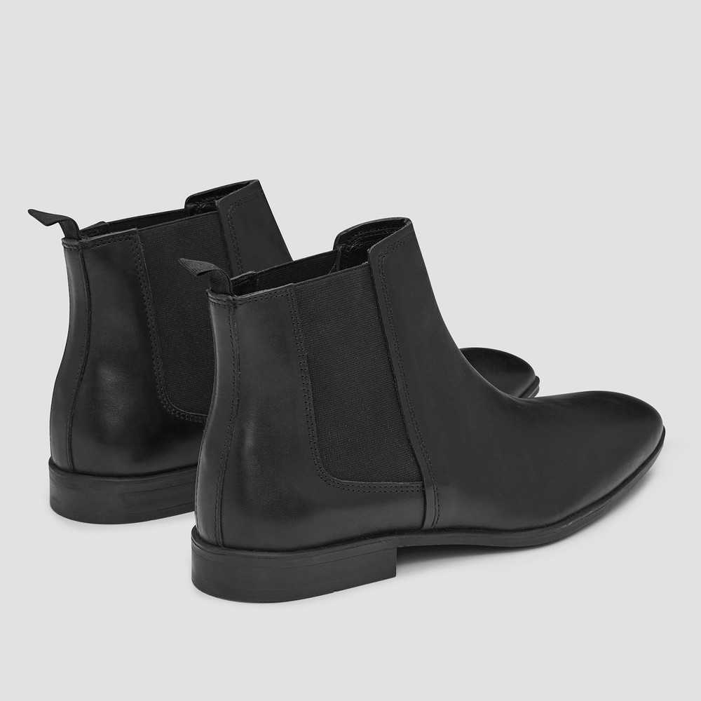 Govern Black Chelsea Boots