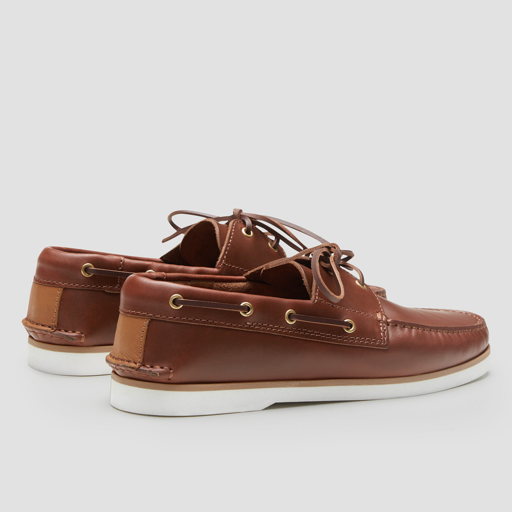 Port Tan Boat Shoes