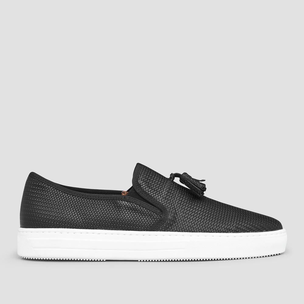 Gonzalo Black Casual Shoes