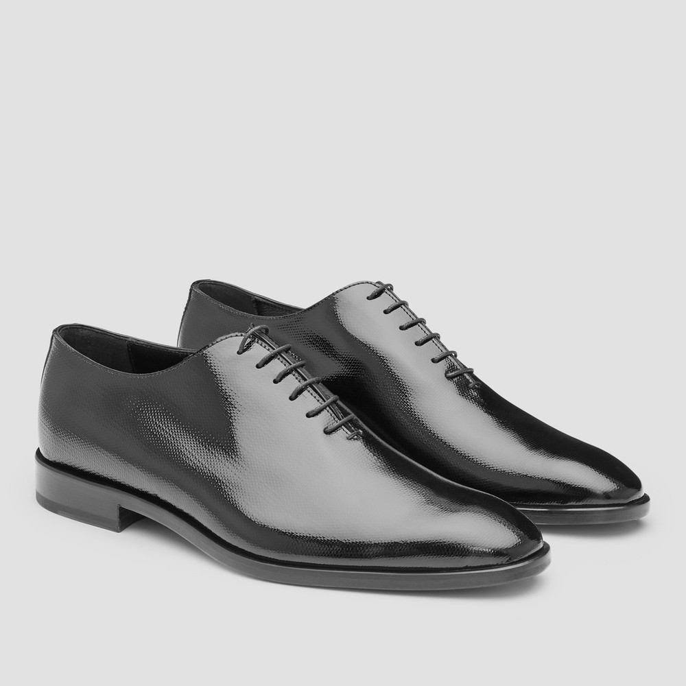 Prandelli Black Oxford Shoes
