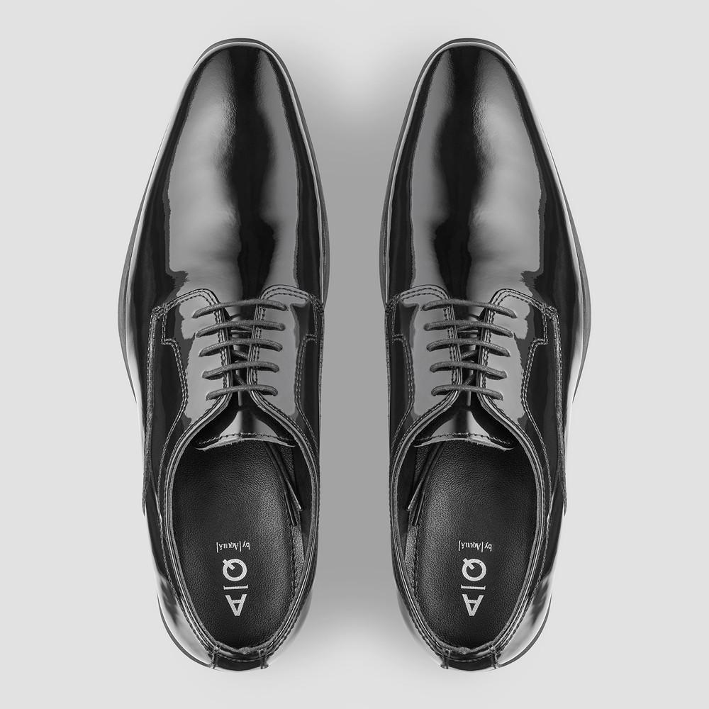 Linwood Ptnt Blk Derby Shoes
