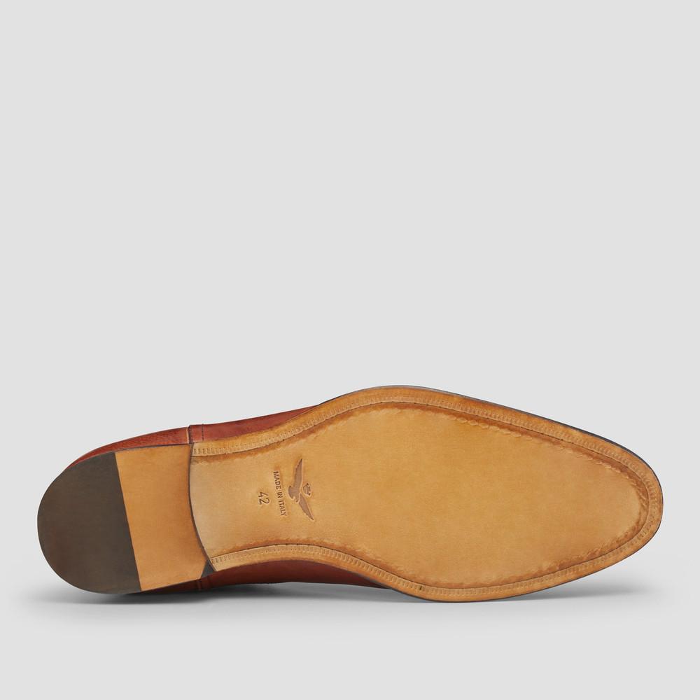 Osbourne Dark Tan Chelsea Boots