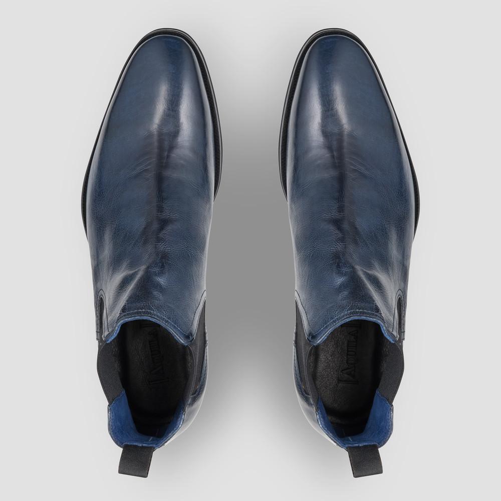 Osbourne Navy Chelsea Boots