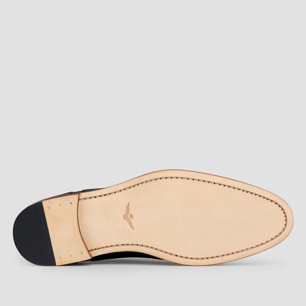 Kennard Black Derby Shoes