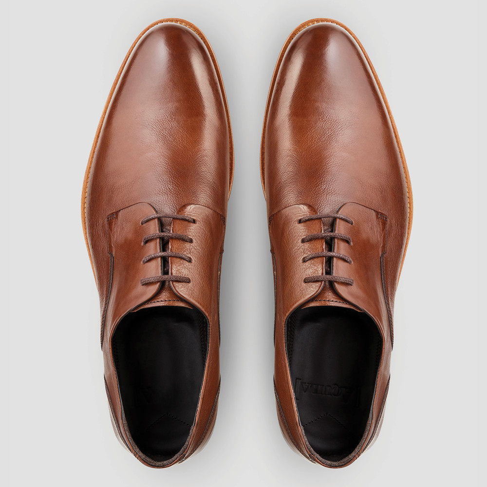 Kennard Tan Derby Shoes