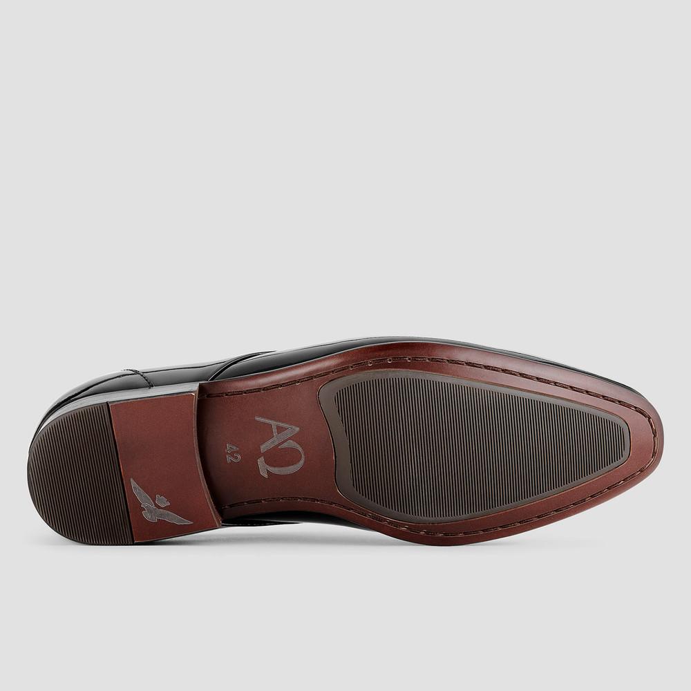 Kruse Ptnt Blk Dress Shoes