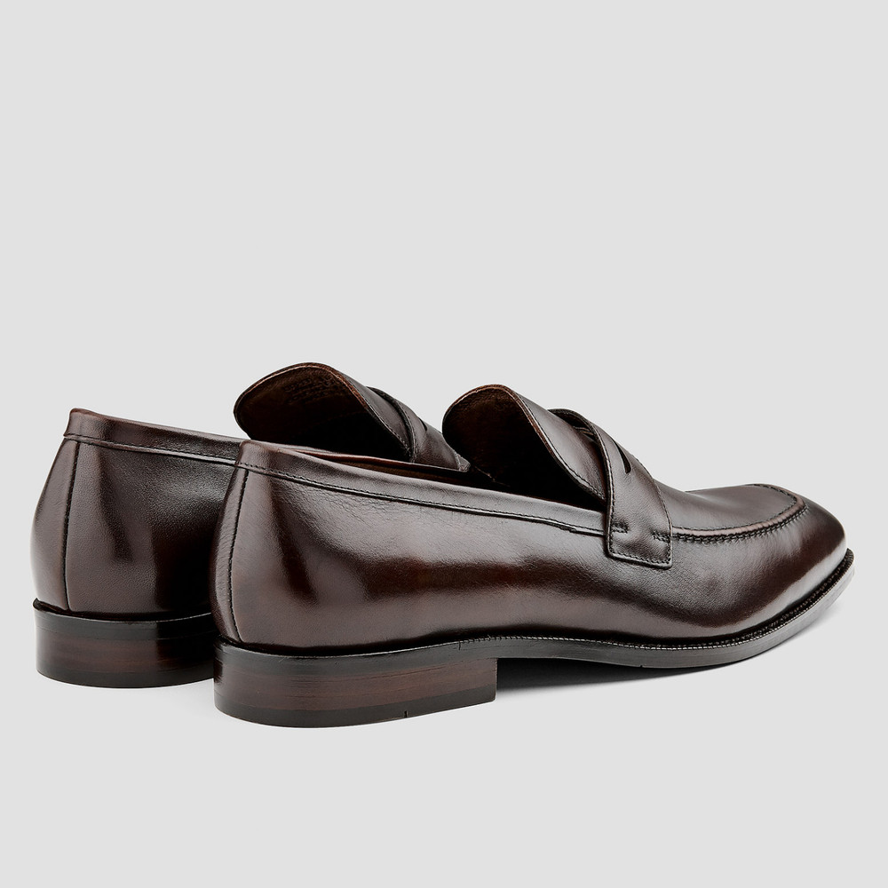 Rothman Brown Penny Loafers