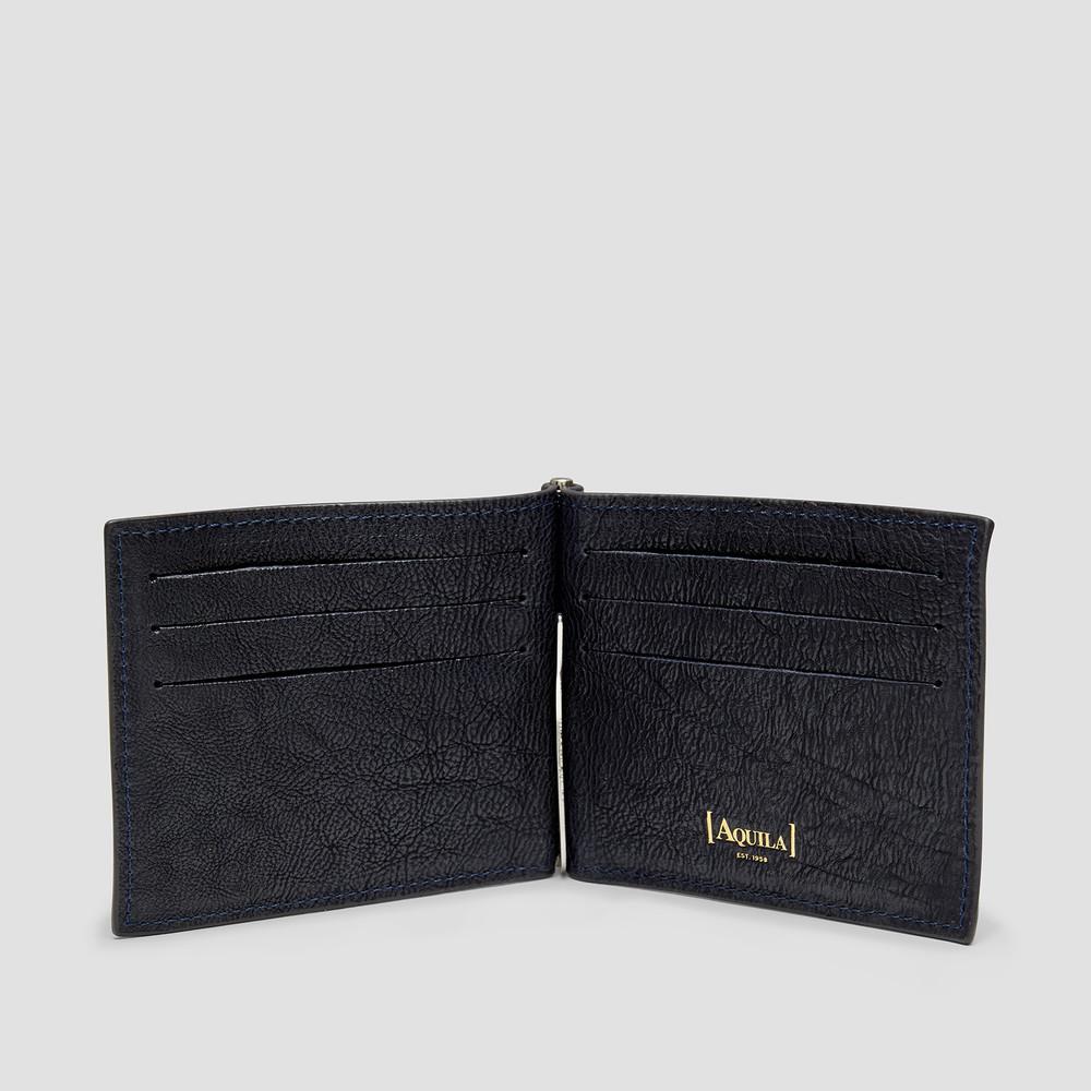 Zion Navy Wallet
