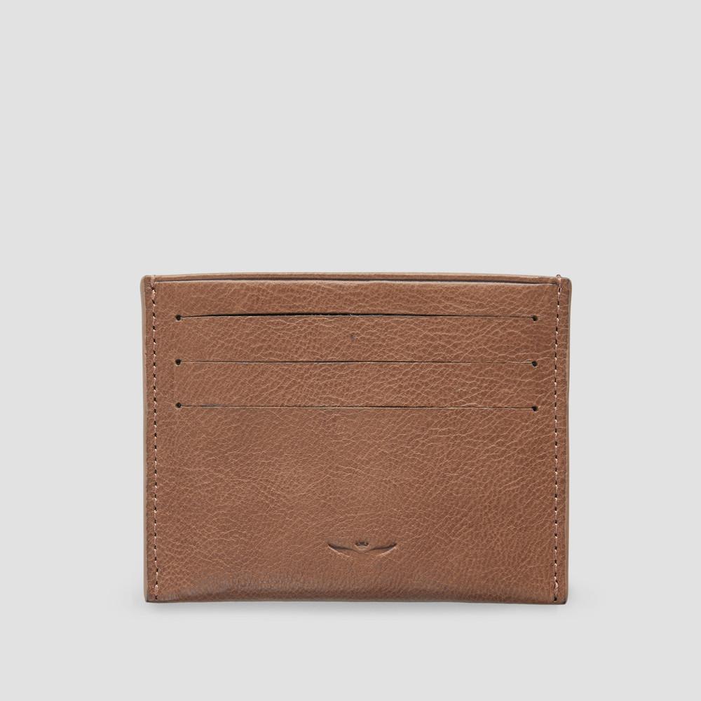 Zion Tan Card Holder